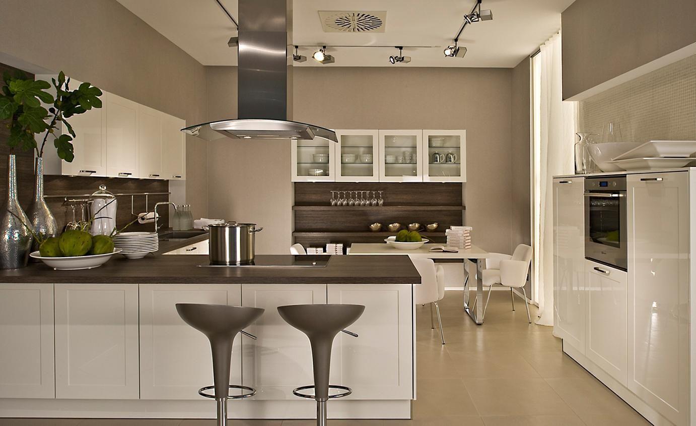 North facing kitchen colours White gloss kitchen