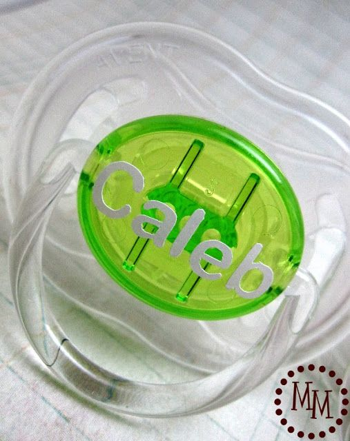 Diy personalized baby pacifiers using silhouette cutting machine diy personalized baby pacifiers using silhouette cutting machine and vinyl negle Choice Image