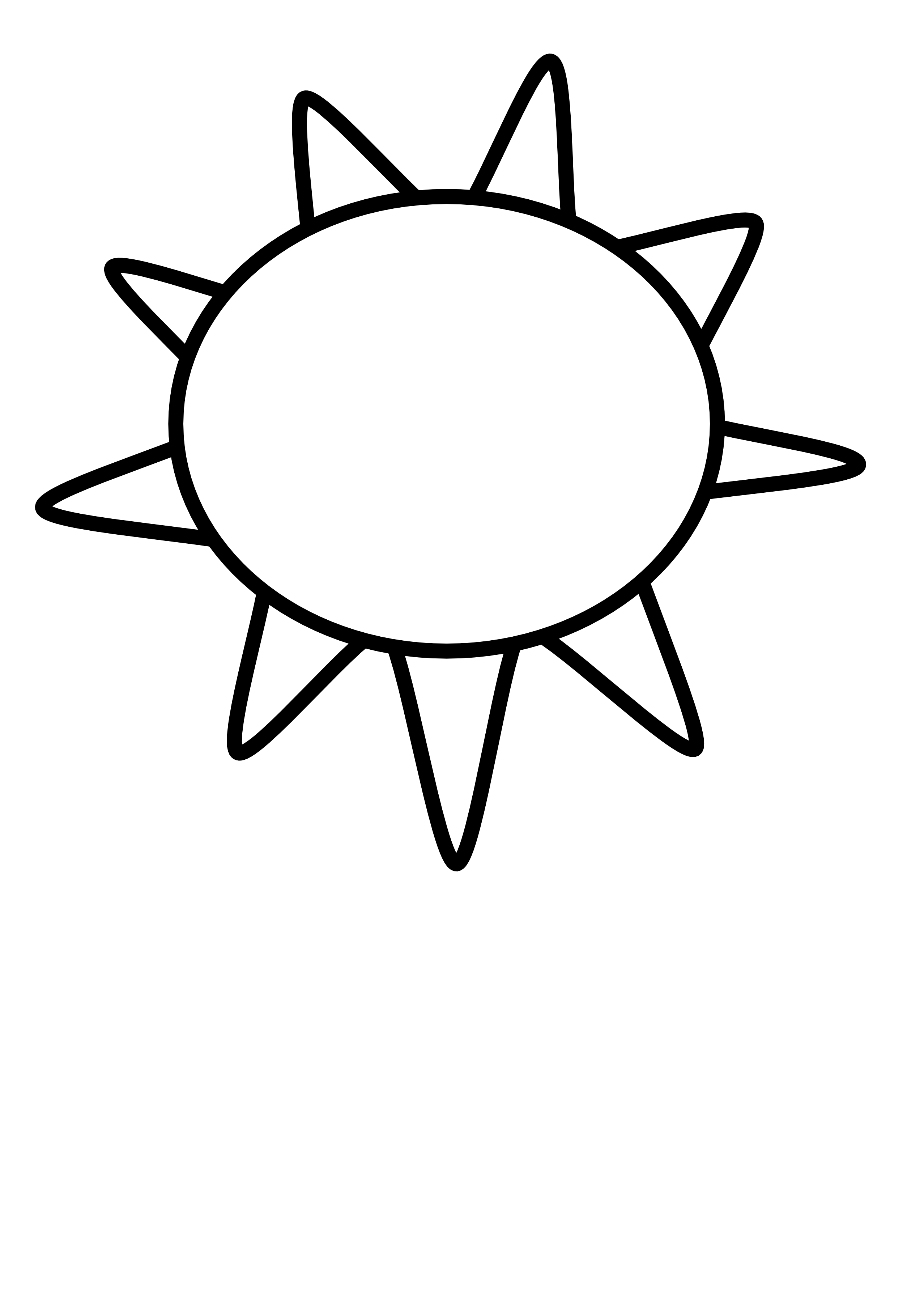 Free Sun Clipart Black And White Pictures Clipartix Clipart Black And White Clip Art Sun Outline