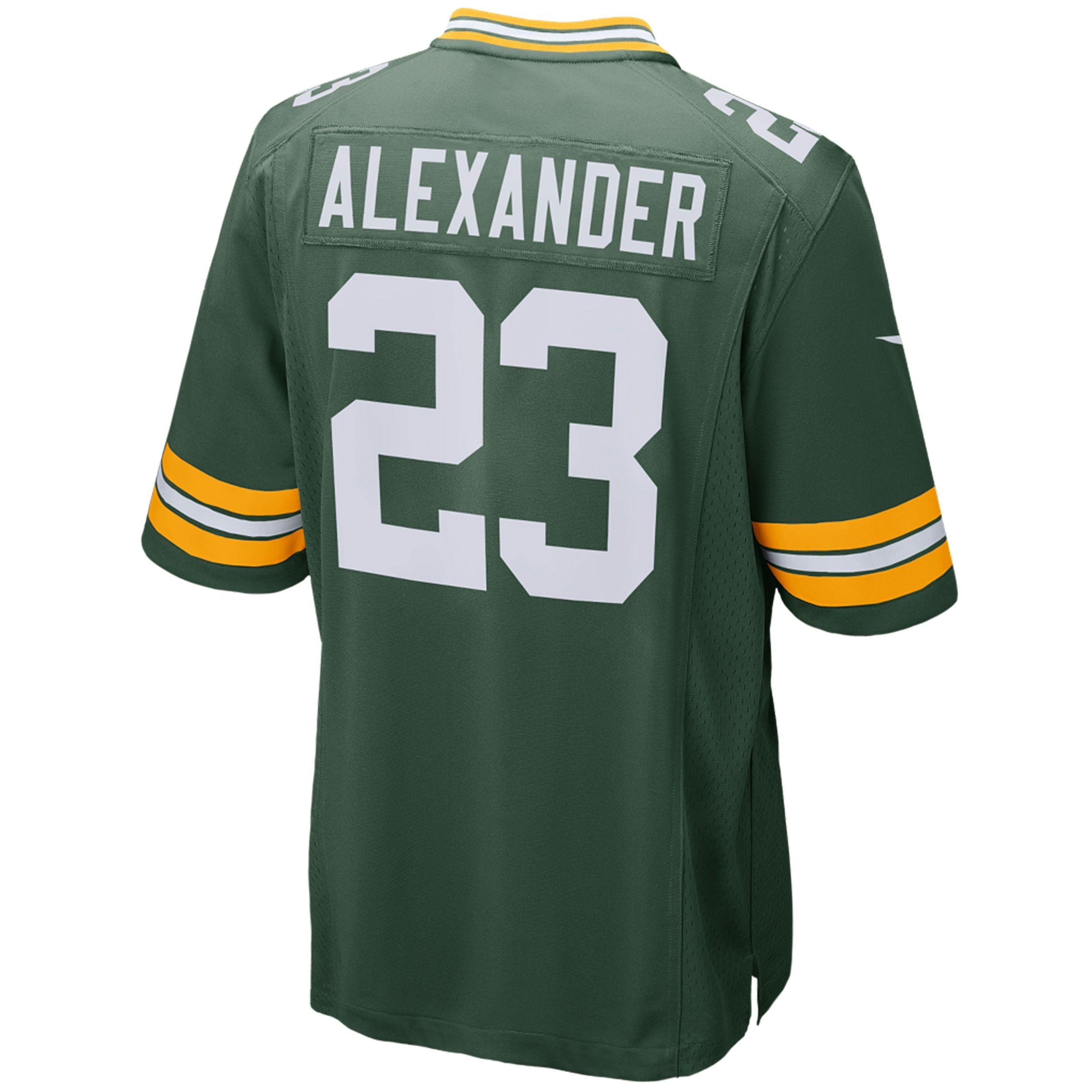 23 Jaire Alexander Home Youth Game Jersey Green Bay Packers Green Bay Packers Game Green Bay Packers Jerseys