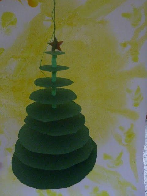Vorlage Zum Downloaden Schneidübung Tannenbaum Kindergarten