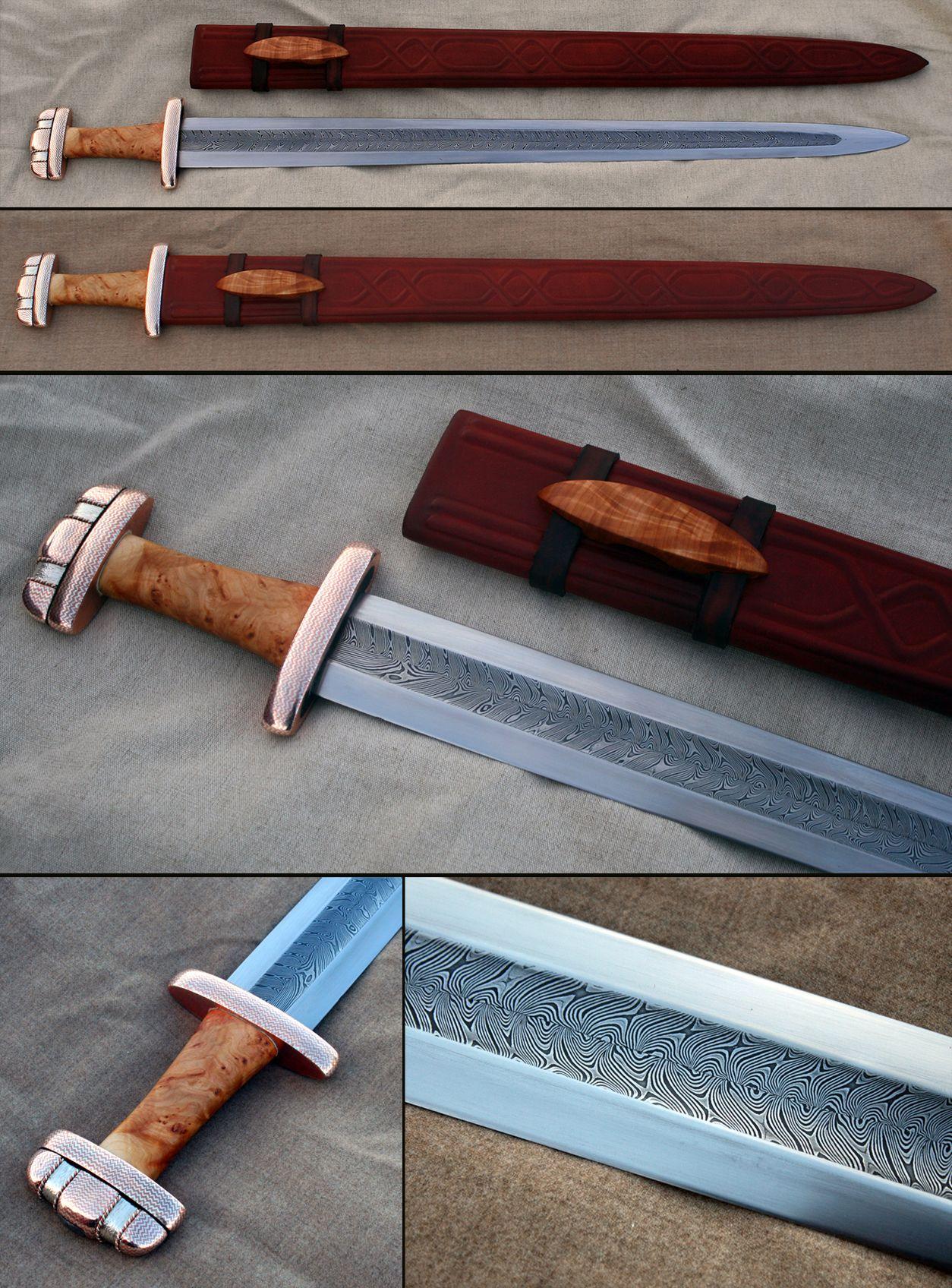 Pattern Welded Sword Amazing Design