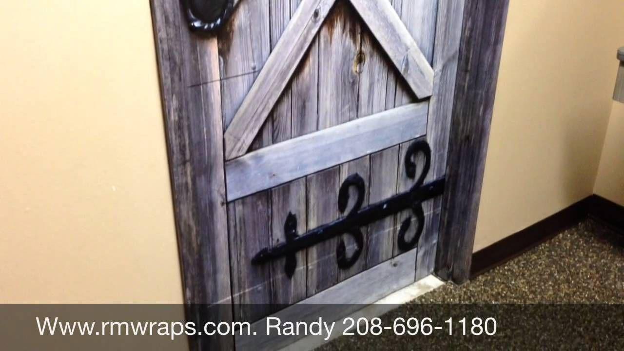 Cowboy restroom door wraps Rm wraps.com. Want one? Go to ...
