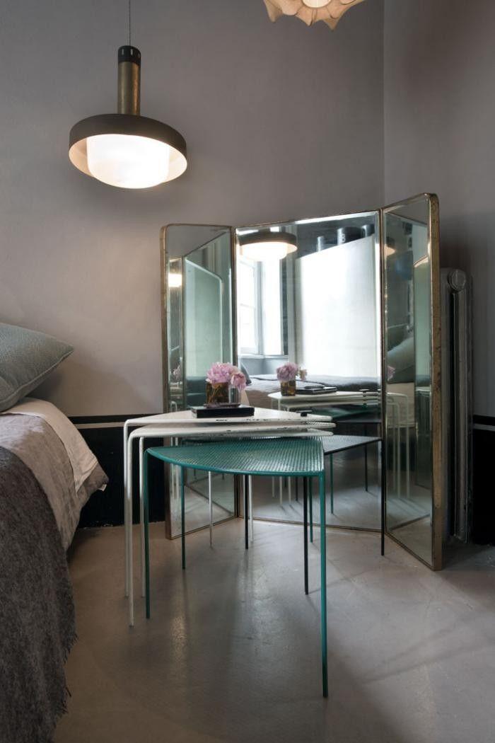 Moody | italian-apartment-with-full-length-mirrors