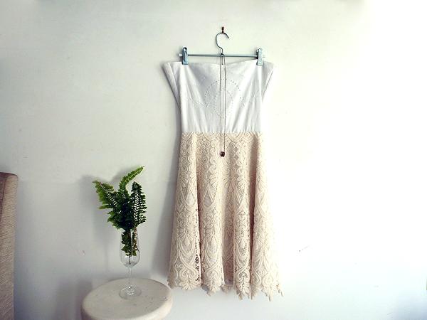 diy: crea tu vestido de novia boho chic, para la eco-novias. recicla