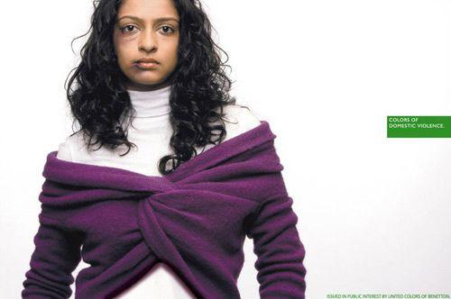 benetton domestic violence