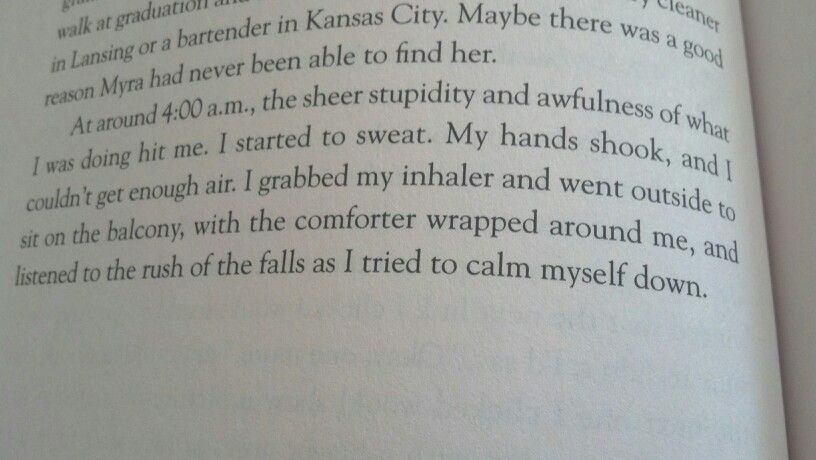 Why Can't I Be You by Allie Larkin (pg 110)