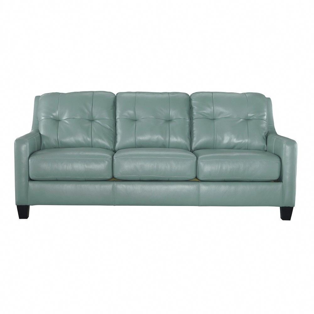 Best Sofas Light Sky Blue Signature Design By Ashley Queen 640 x 480