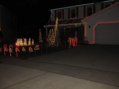 Getting into the Holiday Spirit, One Bulb at a Time - Around Town