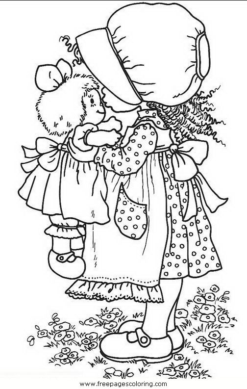 ADULT COLORING PAGE | HOLLY HOBBIE | Pattern | Pinterest | Colorear ...