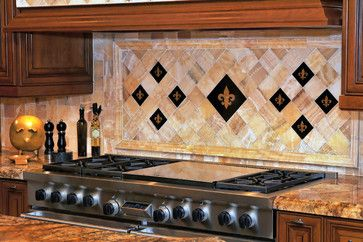 fluer de lis kitchen backsplash ideas | Fleur De Lis ...
