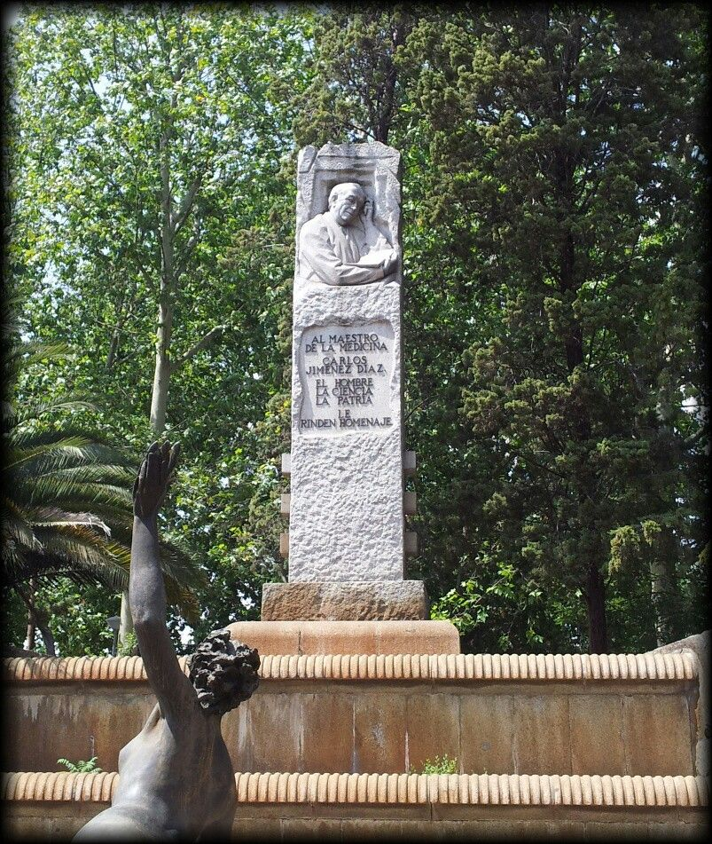 Dr. Carlos Jiménez Díaz. Plaza de Cristo Rey