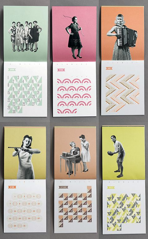 Calendar Graphic Design : Calendar by designvagabond via flickr graphic