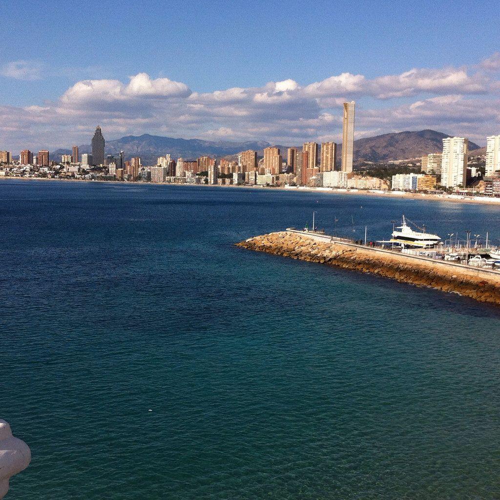 image. - Benidorm - desde el balcón  Playa de Poniente - 2-3-2016