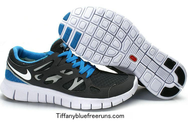 135c3de422558 Grey Blue White Nike Free Runs 2 Boys under  50