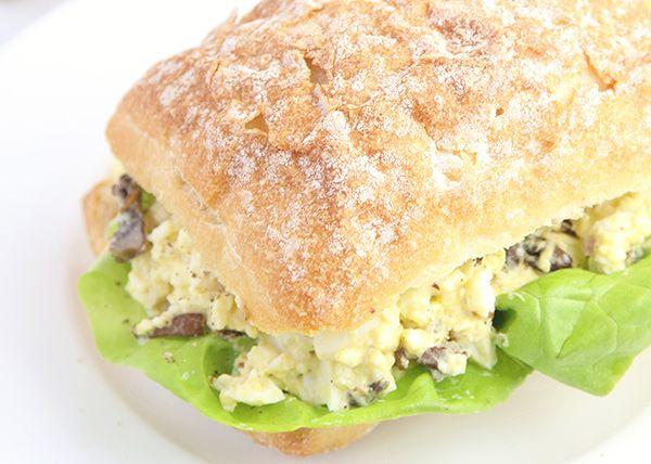 Mushroom Monday: Mushroom Egg Salad
