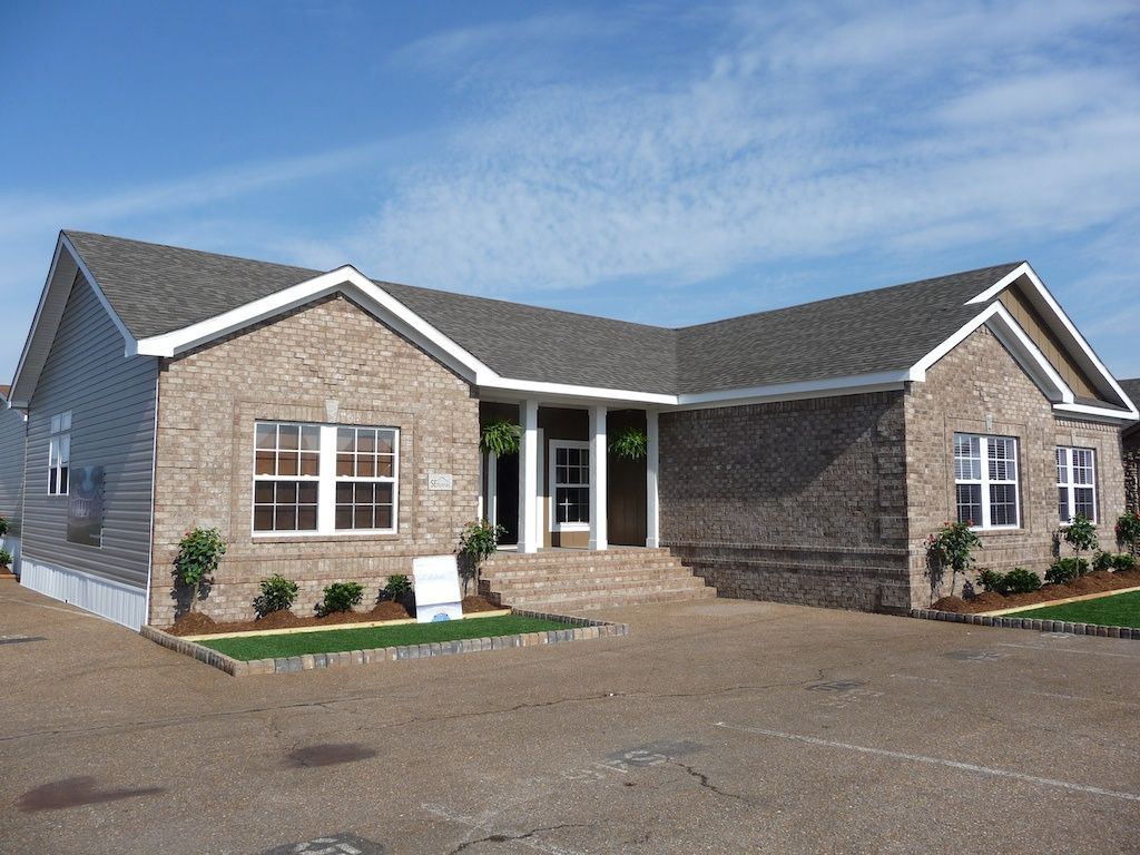 Manufactured homes anticipating utility service