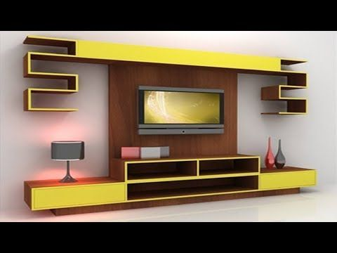 30 Mosdern Wall Mounted LED TV Cabinet Designs 2017, LCD TV Stand ...