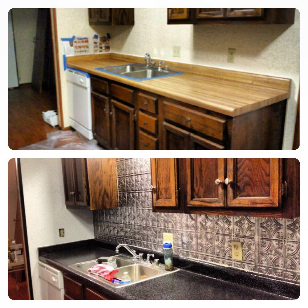 This Is My Kitchen And We Used The Transformation Kit From Home