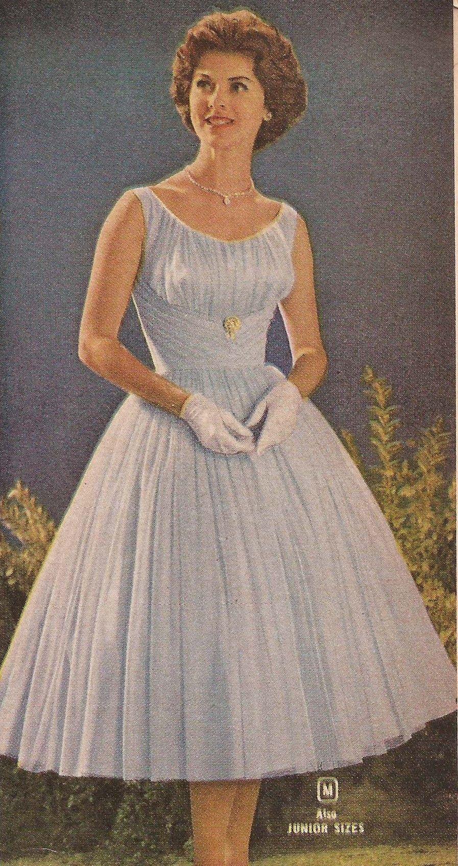1960 Party Dresses Fifties Fashion Vintage Style Dresses Vintage Outfits [ 1694 x 897 Pixel ]