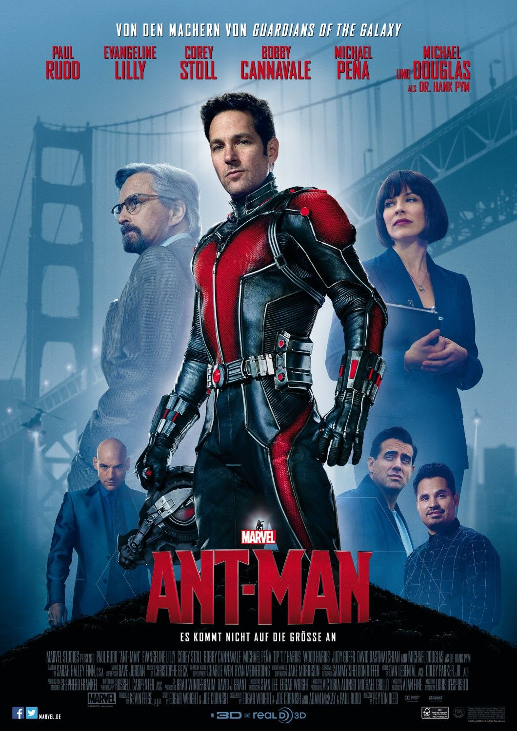 Ant-Man 2015 BluRay 720p 570MB Dual Audio ( Hindi 5.1 – English 5.1 ) MKV