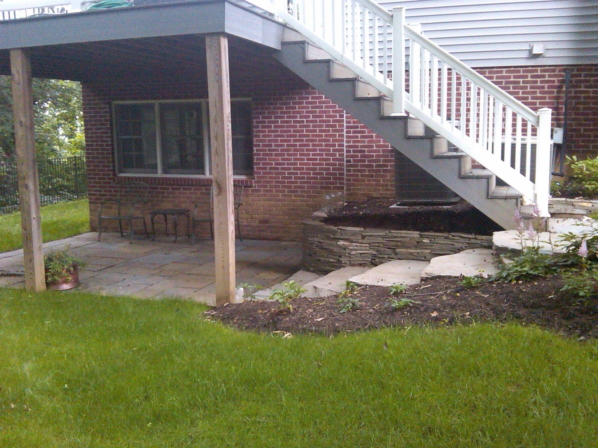 patio under deck decks porches patios Pinterest