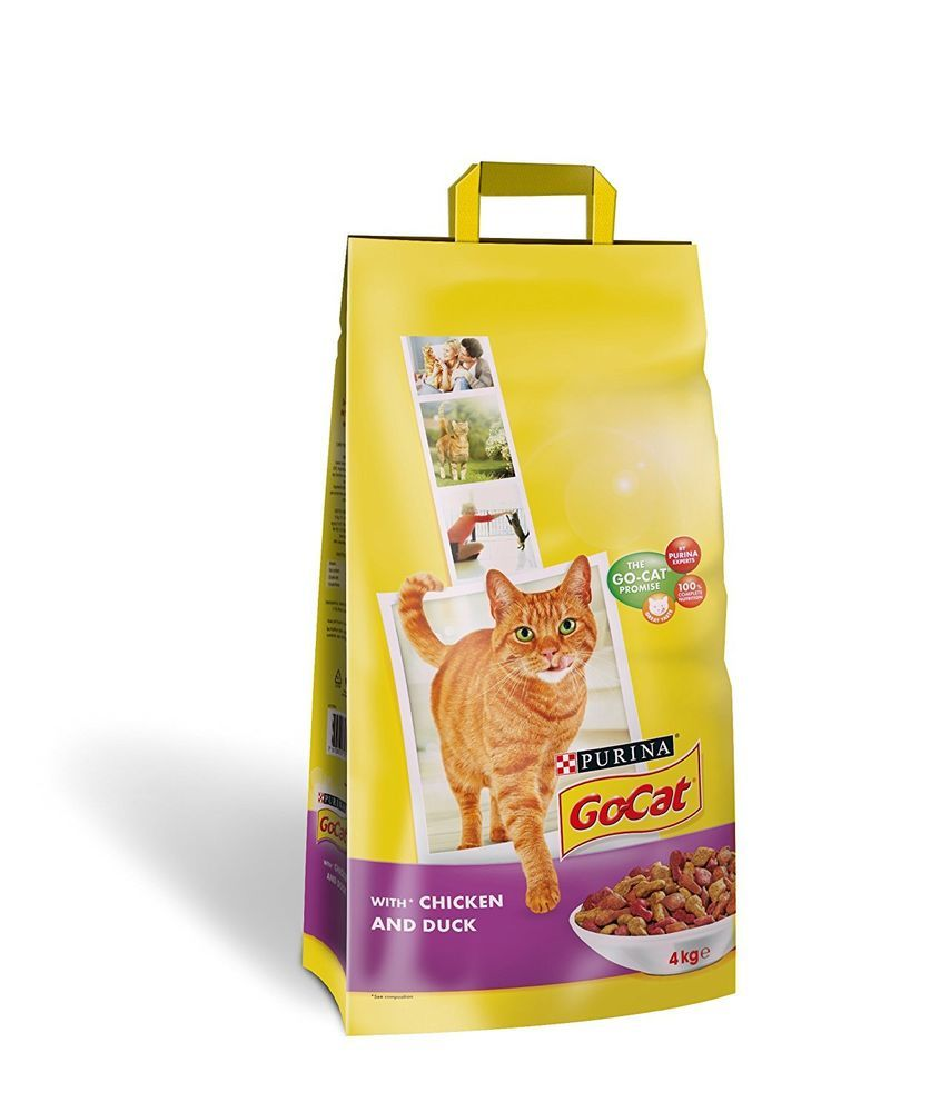 Go Cat Purina Dry Cat Adult Complete Food Chicken And Duck Health Nutrients 10kg Dry Cat Food Cat Food Cats