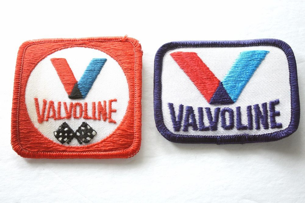 NEW 1 1//4 X 3 1//4 INCH HAVOLINE RACING IRON ON PATCH FREE SHIPPING