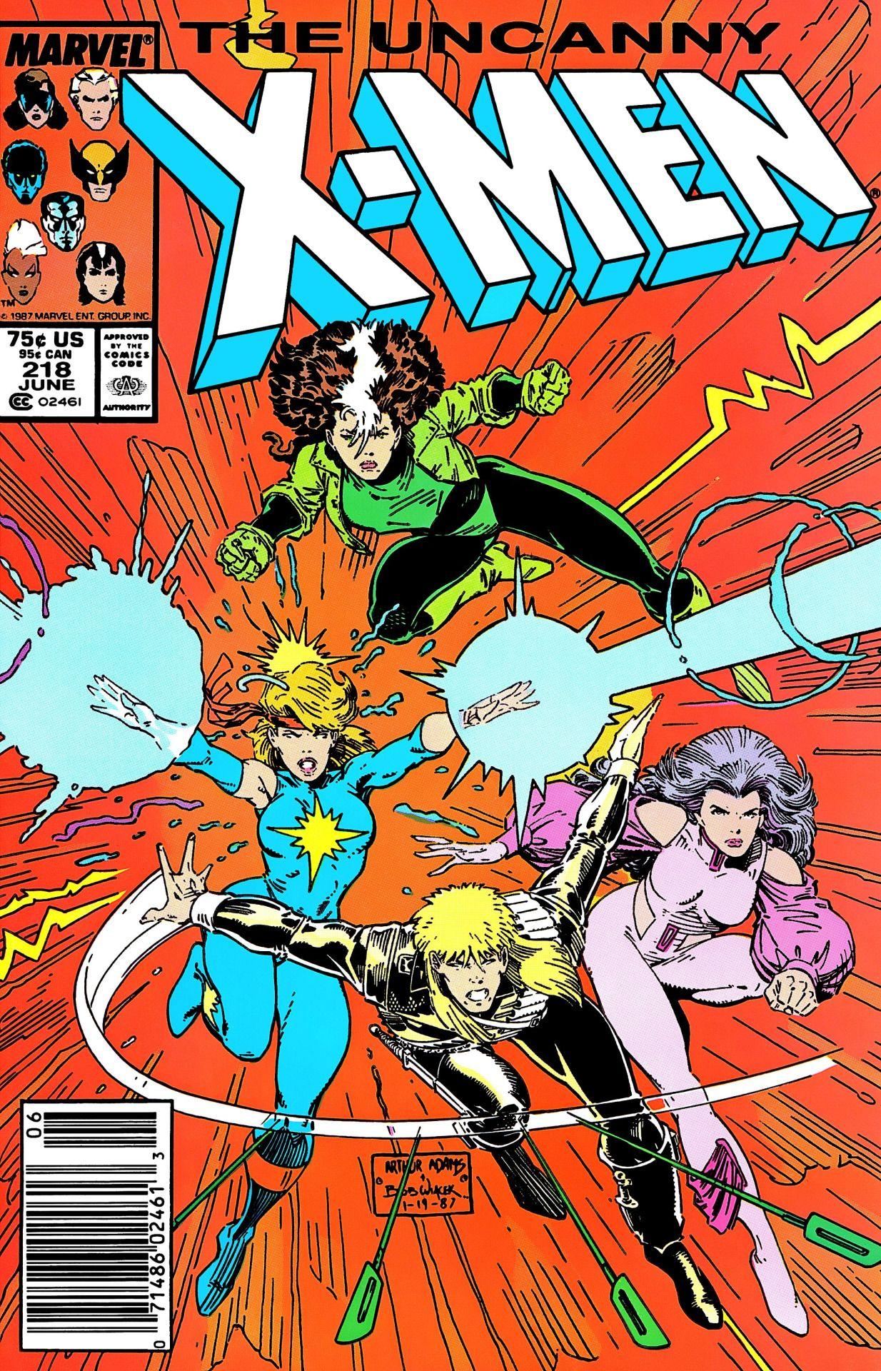 X-Men Dazzler Longshot Psylocke and Rogue