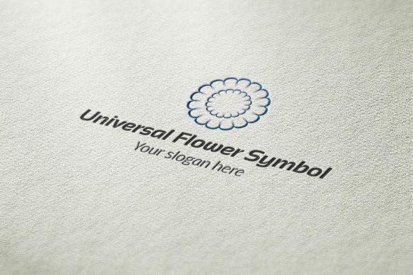 I just released Universal Flower Symbol on Creative Market.