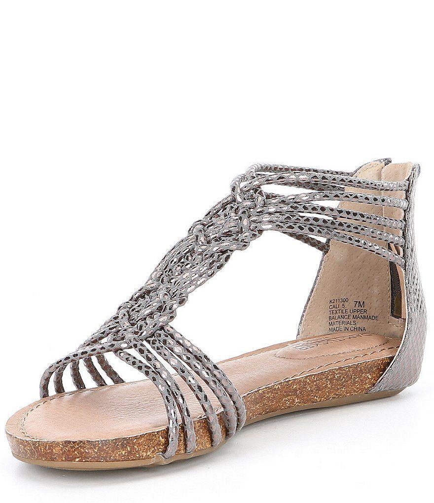 promo code save off new high Adam Tucker by Me Too Cali Metallic Snake Gladiator Sandals ...