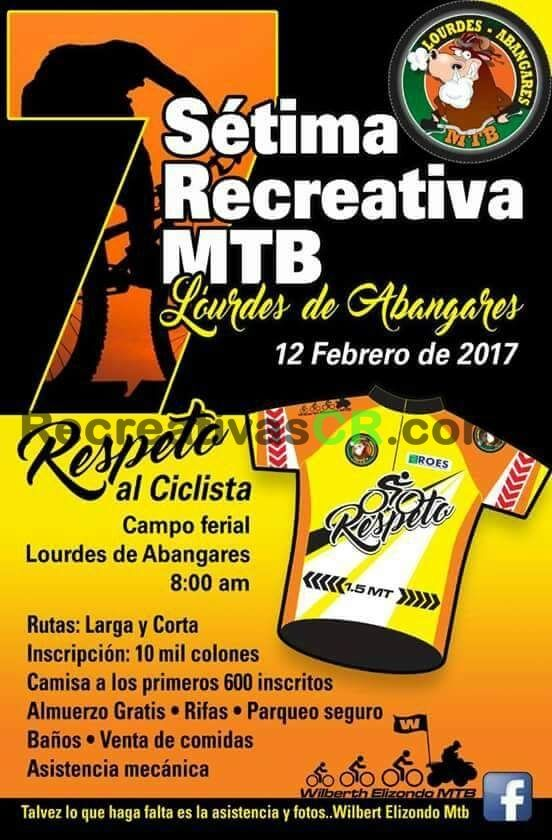 Calendario Mtb 2019 Costa Rica.Recreativa Mtb Lorudes Abanjares 2017 Recreativas Mtb