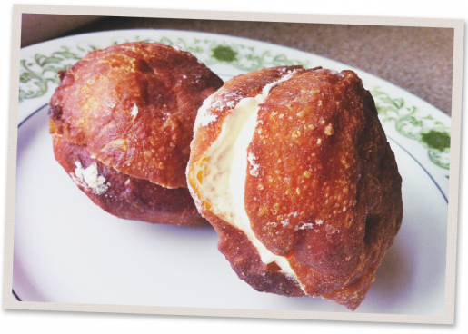 {Try} Culbert's Creme Puffs (Goderich) #cremepuff
