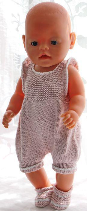 Poppenkleertjes breien patroon - | breien patroon | Pinterest ...