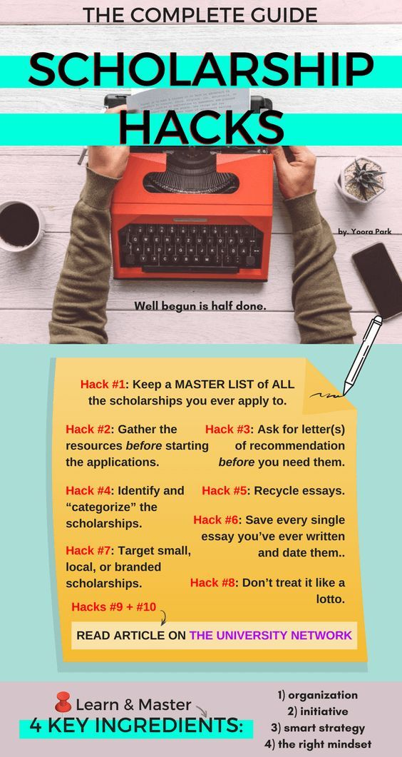 The Complete Guide to Scholarship Hacks College, College - recoommendation letter guide