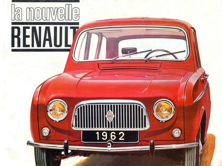 Renault 4L, 1962