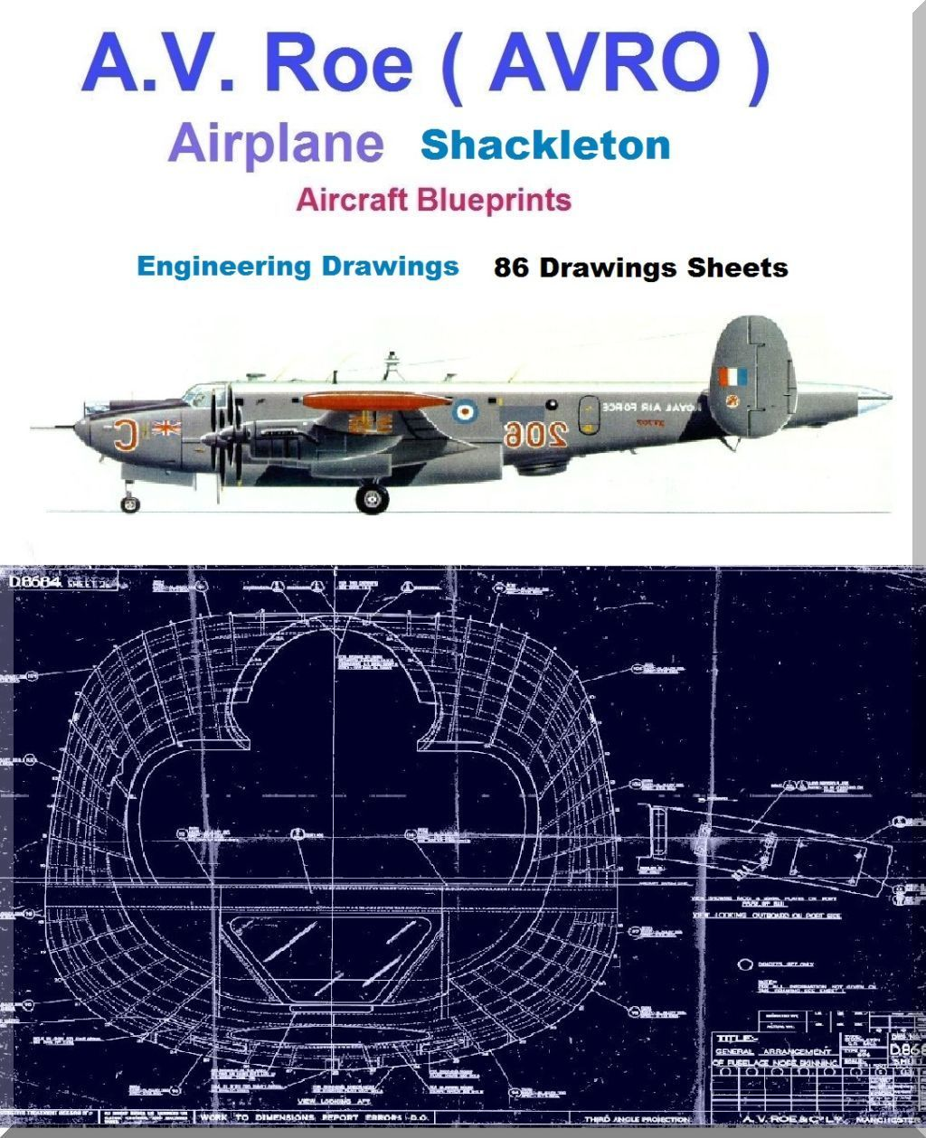 Avro shackleton mr2 aircraft blueprints engineering drawings avro shackleton mr2 aircraft blueprints engineering drawings download malvernweather Choice Image