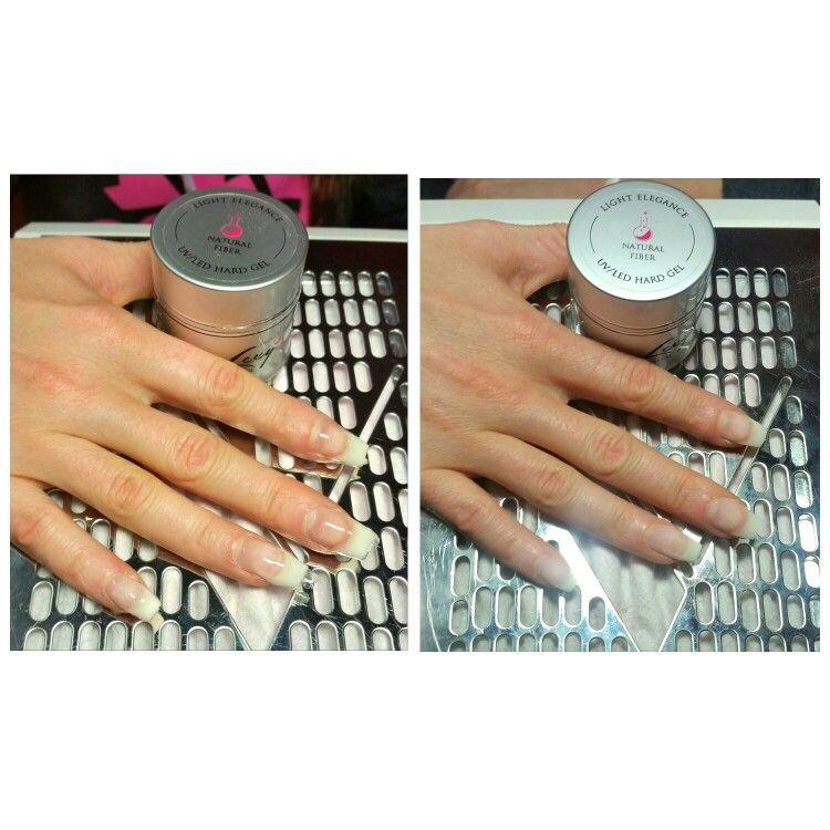 Light Elegance Natural Fibre Gel Sculpted Nail Nails