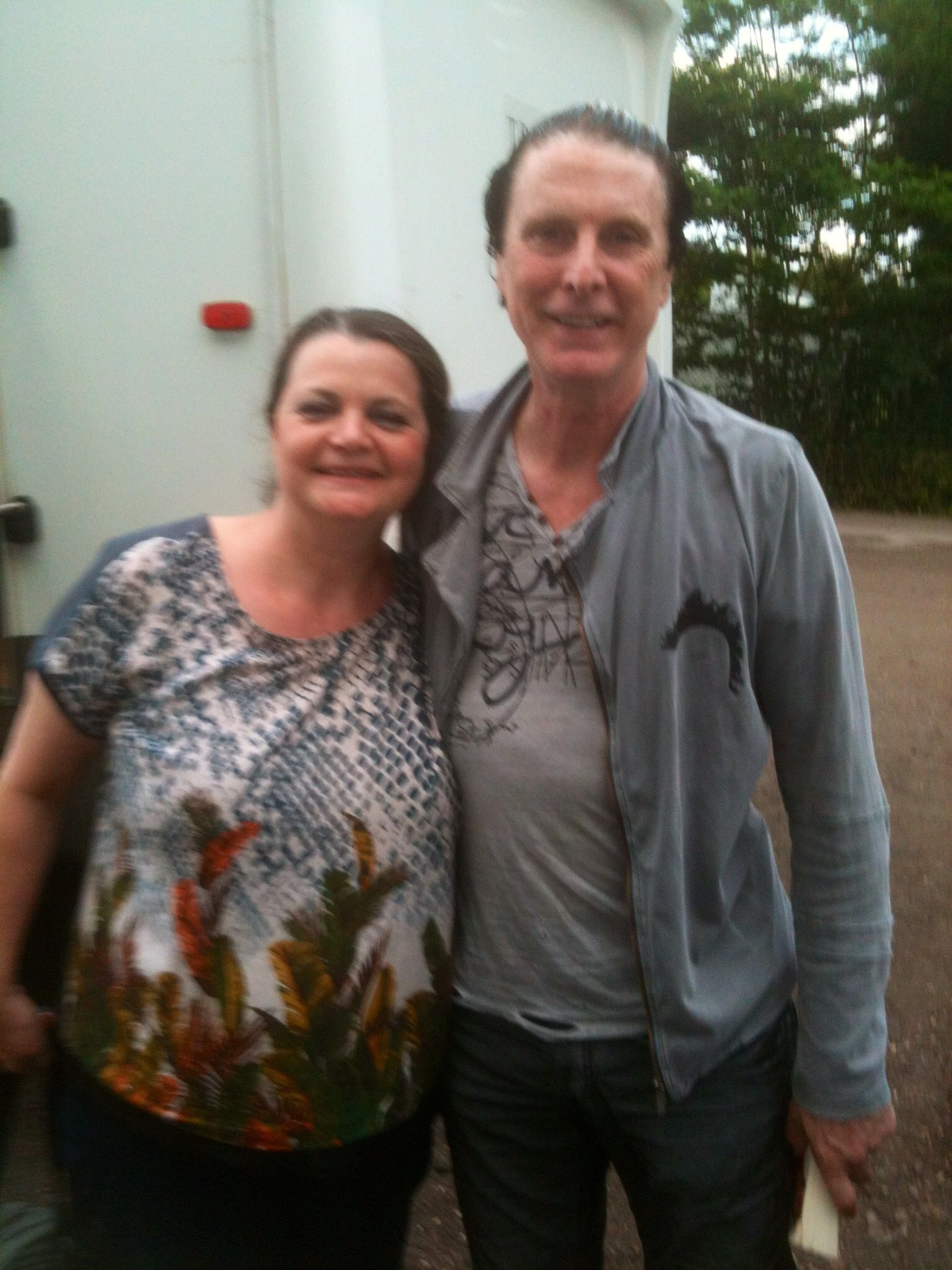 84e46ffe2bd62a With the Amazing Actor David Threlfall who played Tommy Cooper ...