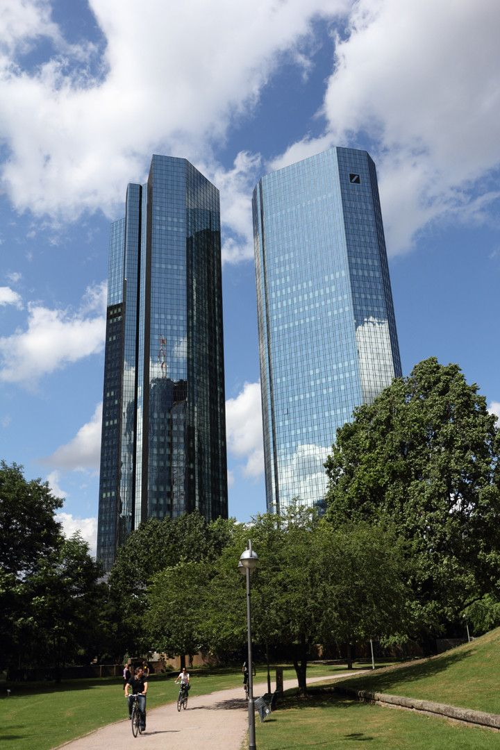 Deutsche Bank, Frankfurt, Deutschland Skyscraper