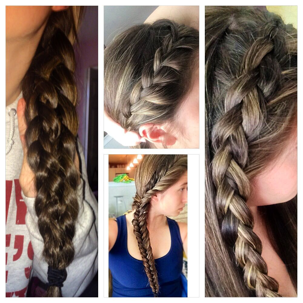 hairstyles all done by me on my hair! Hair styles, Hair