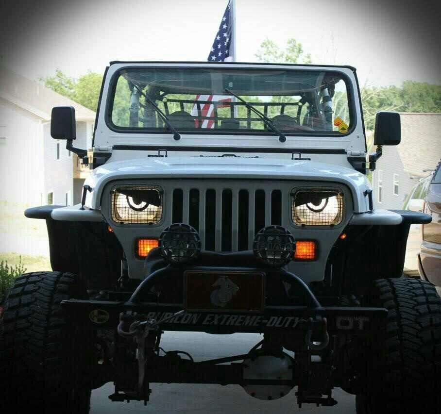 Angry Eyes Jeep Yj Jeep Jeep Wrangler Off Road