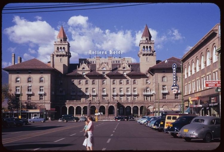 Crazy Huh The Old Hilton Hotel Downtown Colorado Springs Circa 1964 Ish