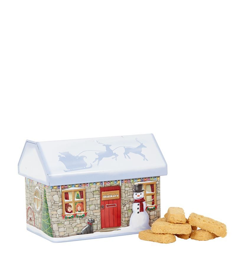 Walkers Christmas Cottage Shortbread Tin (200g) | Harrods