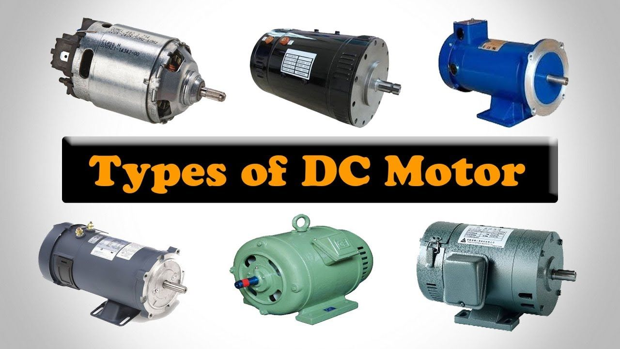 Types Of Dc Motors Classification Of Dc Motors Motor Types