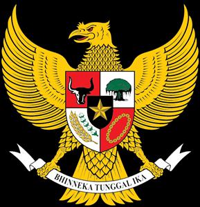 Garuda Pancasila Logo Vector Lambang negara, Gambar