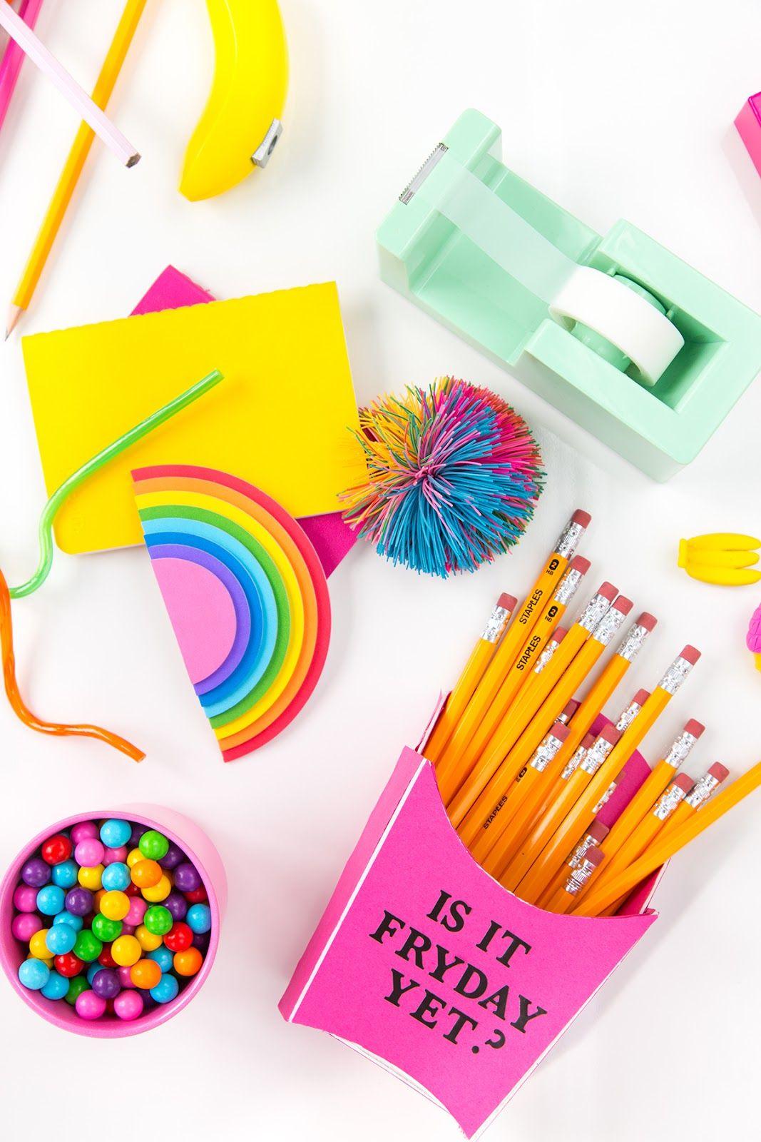 4 Easy Back To School Supply Diys