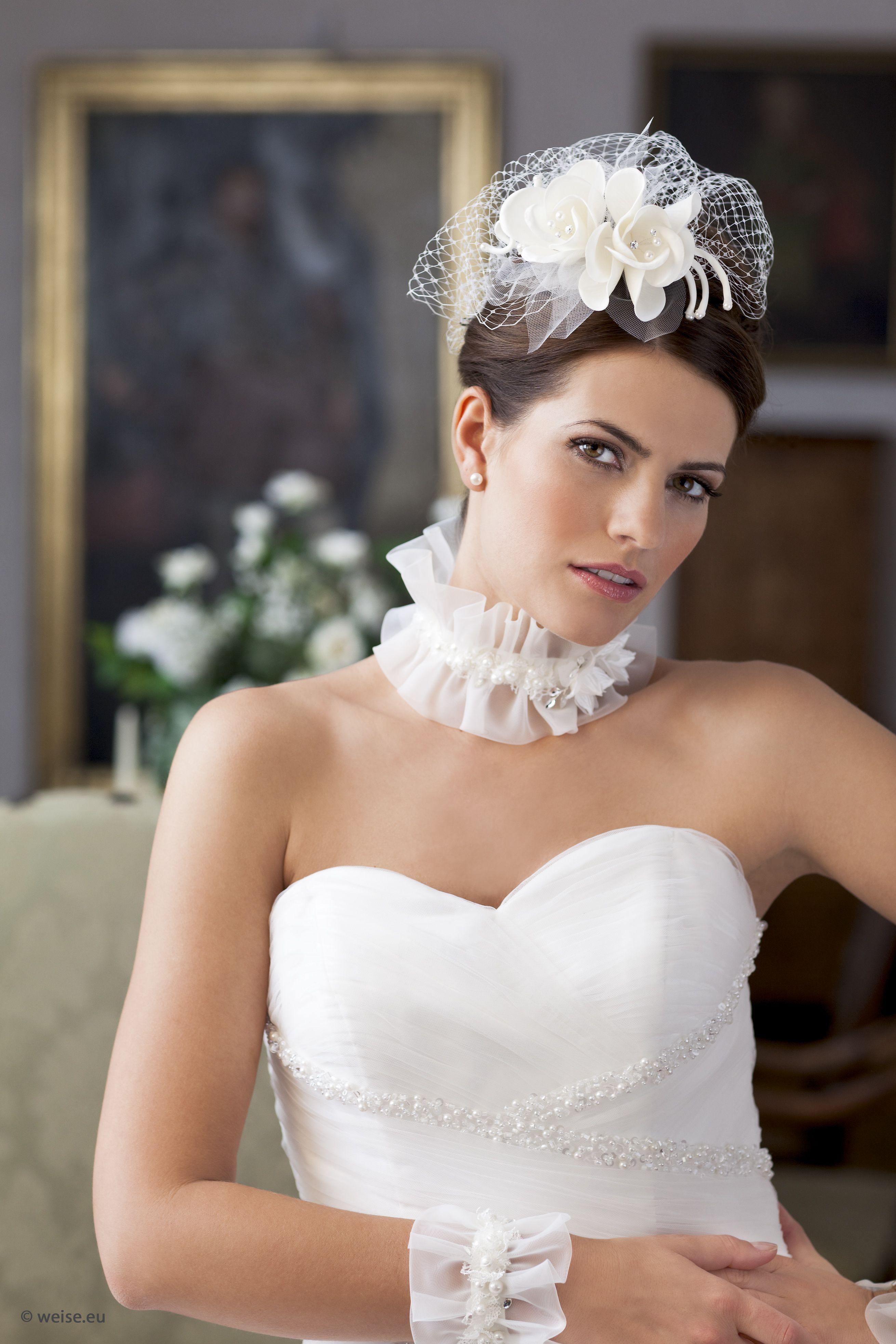 frisur hochzeit birdcage | super brautfrisuren - bridal hair
