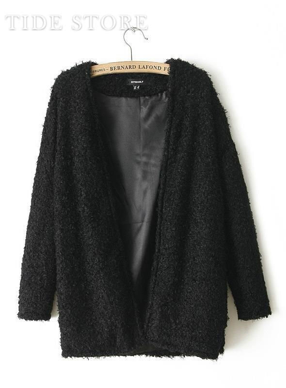 US$21.99 Cool Europe Style Loose Long Sleeve Solid Color Cardigan. #Cardigans #Cardigan #Sleeve #Solid