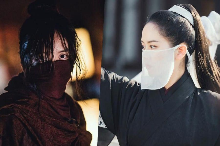 "Kim So Hyun Transitions Seamlessly Between Warrior And Princess In ""River Where The Moon Rises"""
